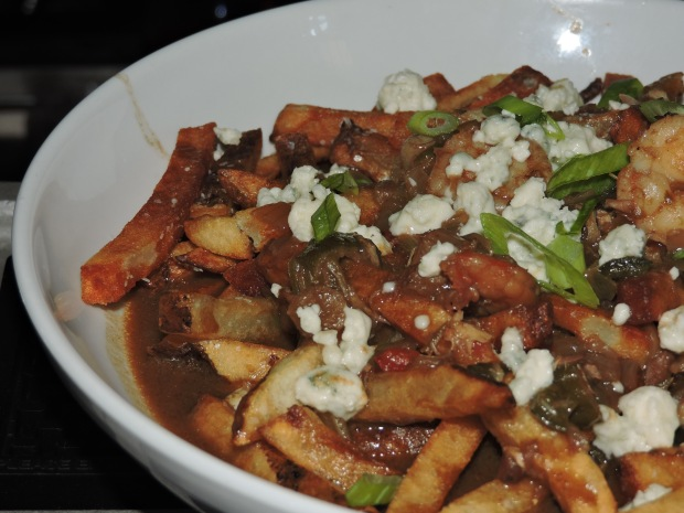 Gumbo gravy fries. So much awesomeness in one bowl.