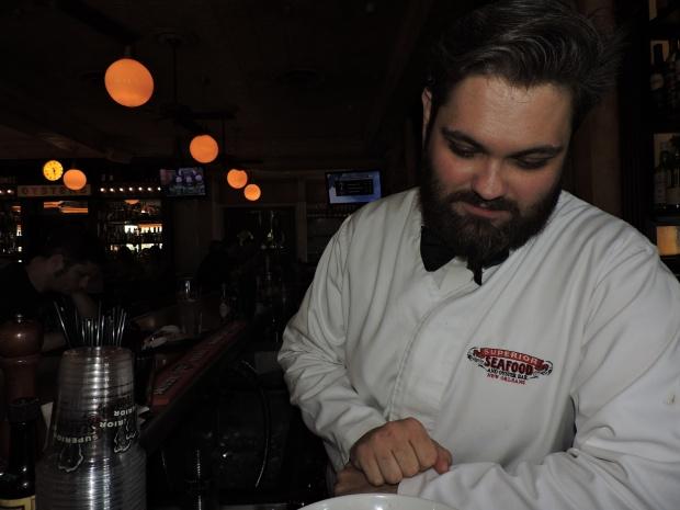 Thomas Houston. Manager/Bartender extraordinaire.